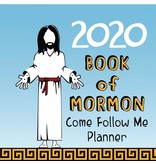 2020 Book of Mormon Come Follow me Planner: Weekly Agenda & Study Journal