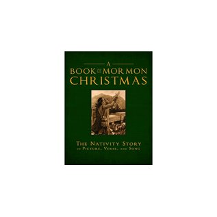 Cedar Fort Publishing A Book of Mormon Christmas- The Nativity Story in Picture, Verse & Song.