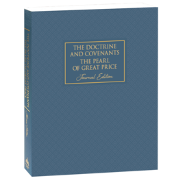 Deseret Book Company (DB) The Doctrine and Covenants and Pearl of Great Price, Journal Edition, Neutral by Deseret Book Company