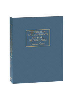 DELIVERY JANUARY 2021 Neutral The Doctrine and Covenants and Pearl of Great Price, Journal Edition, Neutral by Deseret Book Company