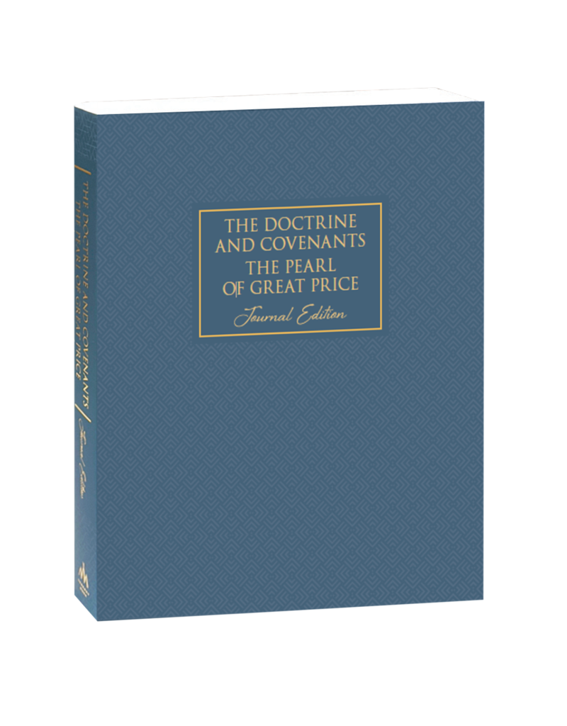 Neutral The Doctrine and Covenants and Pearl of Great Price, Journal Edition, Neutral by Deseret Book Company