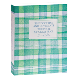 Deseret Book Company (DB) The Doctrine and Covenants and Pearl of Great Price, Journal Edition, Plaid by Deseret Book Company