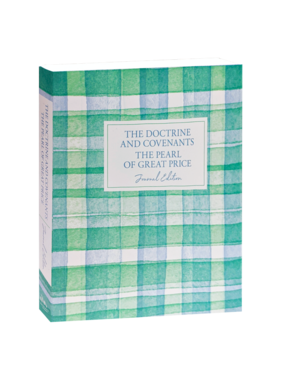 DELIVERY JANUARY 2021 Plaid The Doctrine and Covenants and Pearl of Great Price, Journal Edition,  by Deseret Book Company