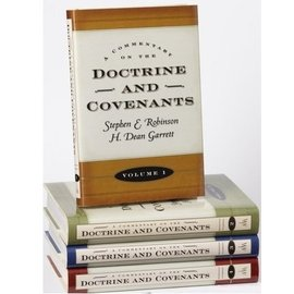 Deseret Book Company (DB) Commentary on the Doctrine and Covenants 4-vol. set, Robinson, Garrett