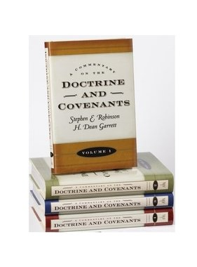 Commentary on the Doctrine and Covenants 4-vol. set, Robinson, Garrett