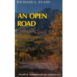 Publishers press ***PRELOVED/SECOND HAND*** An Open Road, Volume 3, Evans