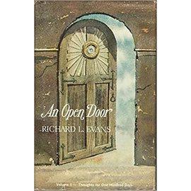 Publishers press ***PRELOVED/SECOND HAND*** An open door, Volume 2, Evans