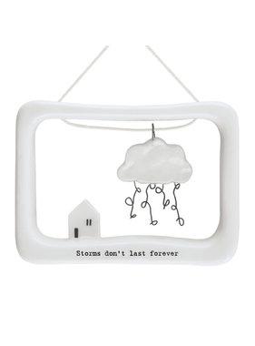 5633 Porcelain open frame-Storms don't last forever