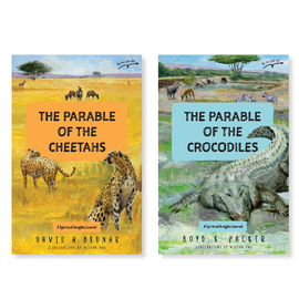 Deseret Book Company (DB) The Parable of the Cheetahs - The Parable of the Crocodiles A Spiritual Insights Journal by David A. Bednar, Boyd K. Packer