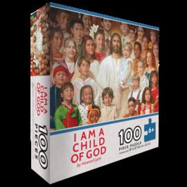 I am a Child of God Puzzle (100 piece) Howard Lyons