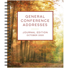 Deseret Book Company (DB) PREORDER (Shipping Late October) General Conference Addresses, Journal Edition, October 2020