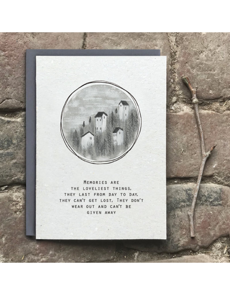 2524B Art card-Memories are the loveliest things