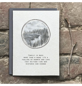2524G Art card-Family is more than a word