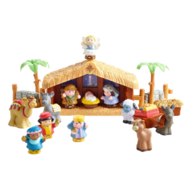 Little People Christmas Story 13-Piece Set by Fisher-Price