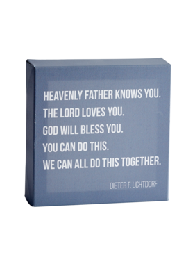 Do This Together (7x7 Plaque) by Latter-Day Home