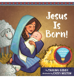 Jesus Is Born! A Flashlight Discovery Book by Casey Nelson, Shauna Gibby