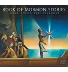 2021 Jorge Cocco Calendar - Book of Mormon Stories