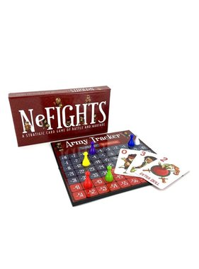 NeFights: A Strategic Card Game of Battle and Warfare