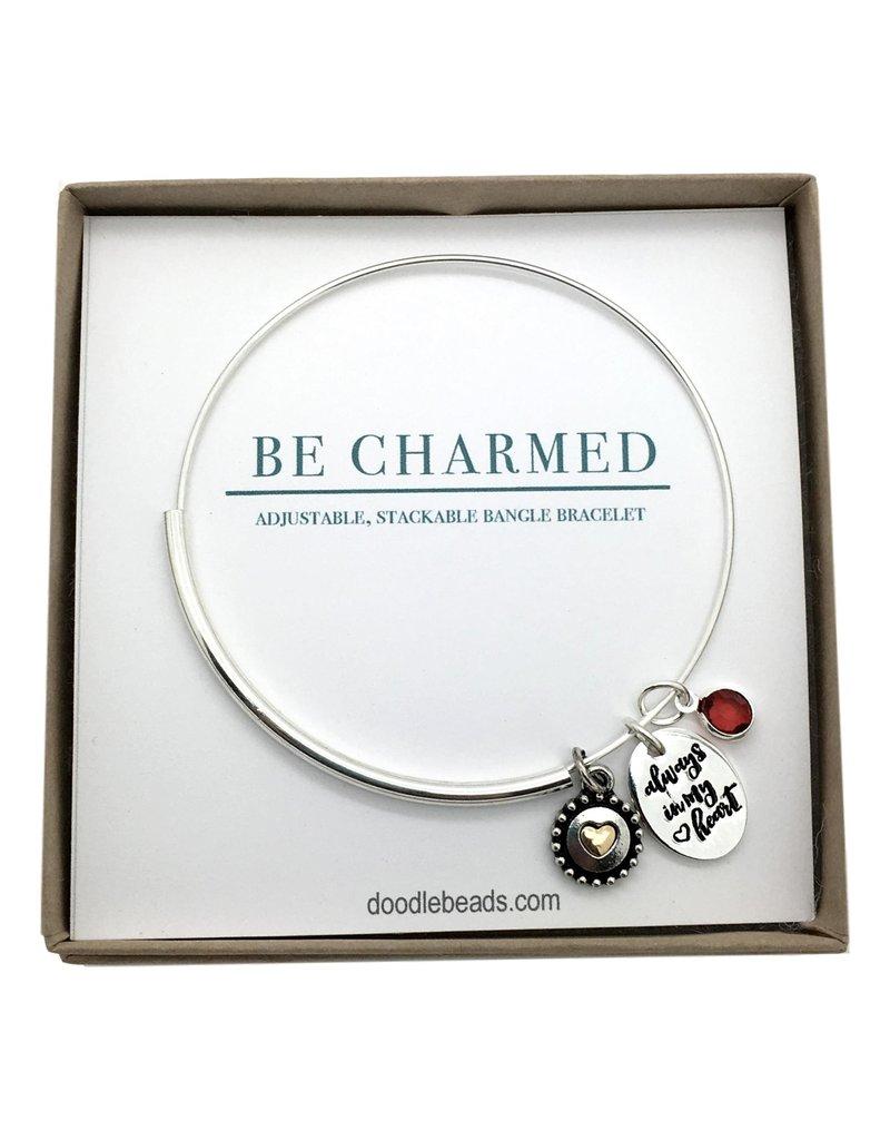Be Charmed Always In My Heart Bracelet