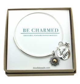 Be Charmed Choose Happy Bracelet