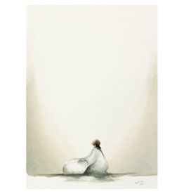 Kate Lee 'Atonement Matted Print'  Size 16x20