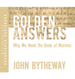 Golden Answers Why We Need The Book of Mormon AUDIO BOOK
