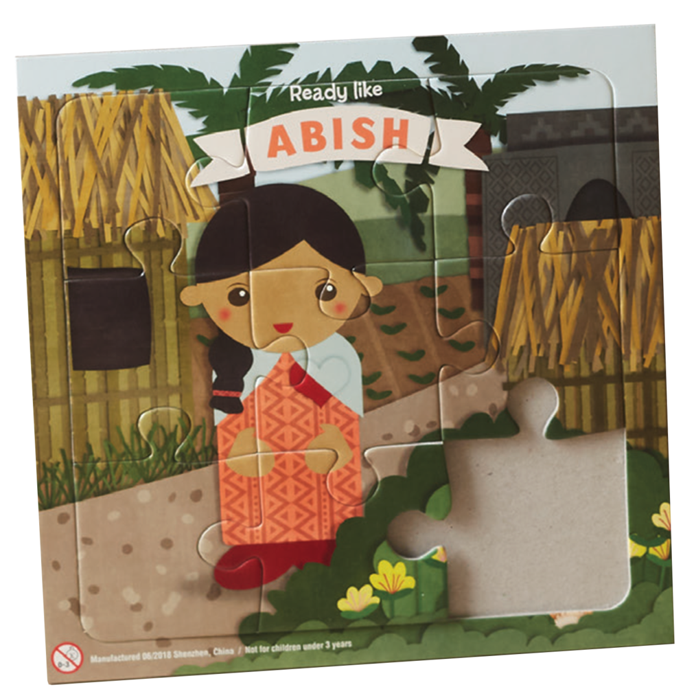Abish Puzzle by Alexis Merrill
