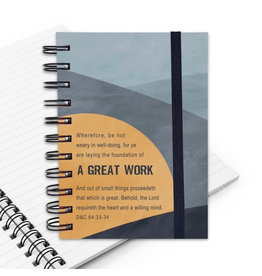 A Great Work 2021 LDS Youth Theme Journal, Gray