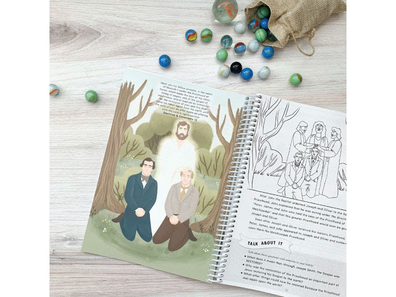 Doctrine and Covenants Study Book for Kids and Youth (ages 7 through teens)N