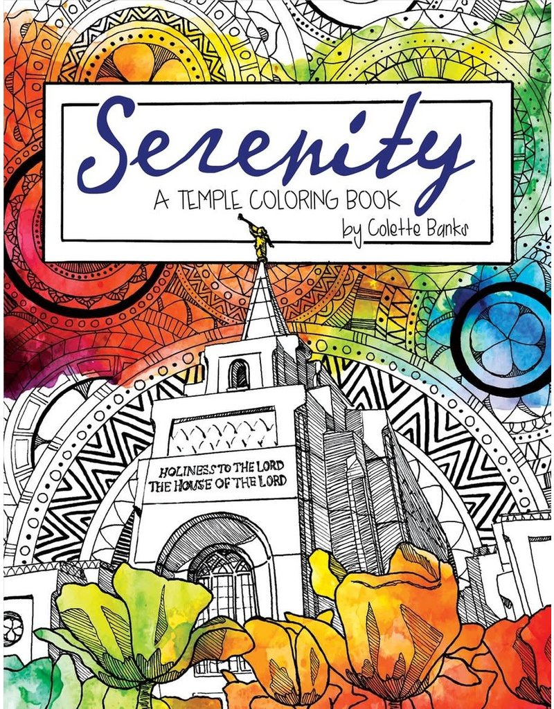 Serenity: A Temple Colouring Book