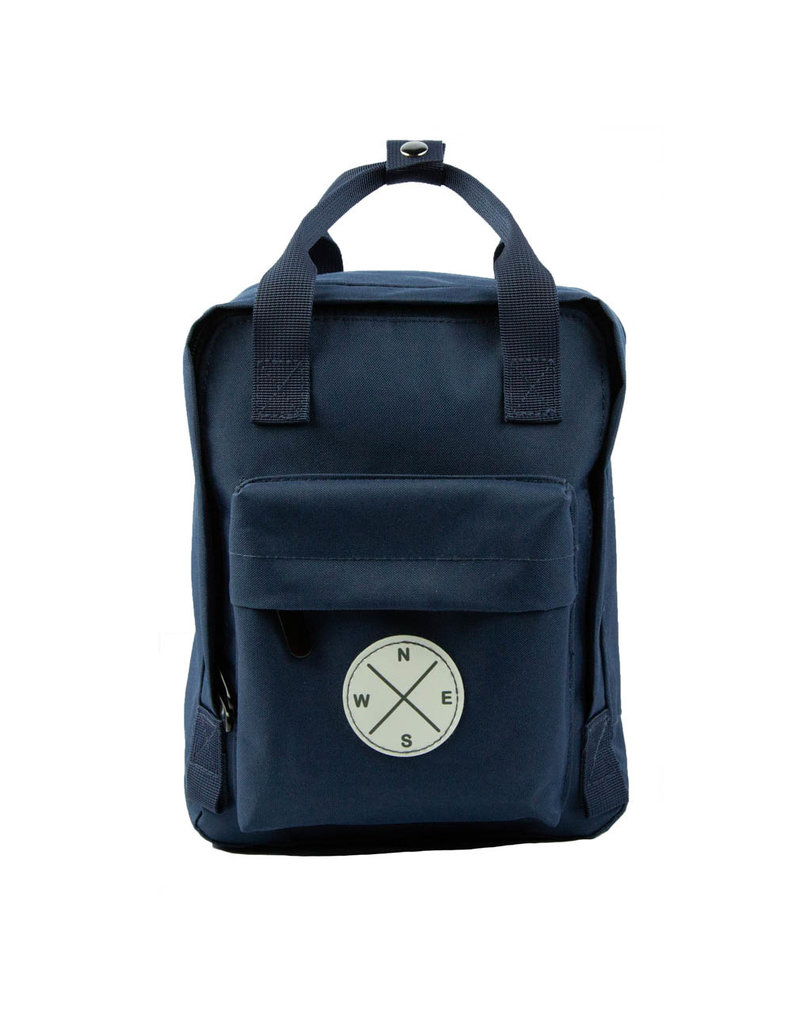 Navy Mini Scripture Backpack