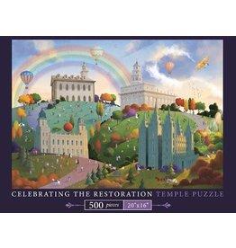 Celebrating the Restoration Temple Puzzle - 500 Pieces