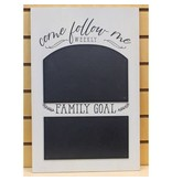 Come Follow Me Chalk-Board 18 inch