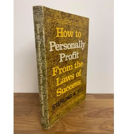 The national institute of financial planning ***PRELOVED/SECOND HAND*** How to personally profit from the laws of success, Sill
