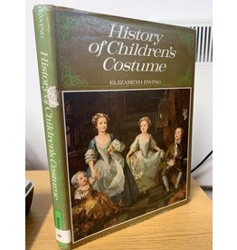 bibliphile ***PRELOVED/SECOND HAND*** History of children's costume, Ewing