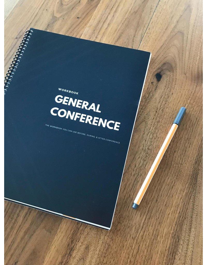 NurtureHomeCo General Conference Journal and Workbook - Black & White Design
