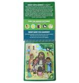 Kanga Toys Book of Mormon Aqua Brush Activity Book, Reusable Travel Activity