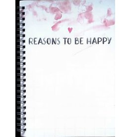 Reasons to Be Happy Journal Pink