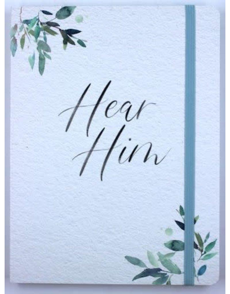 Hear Him Journal Leaves