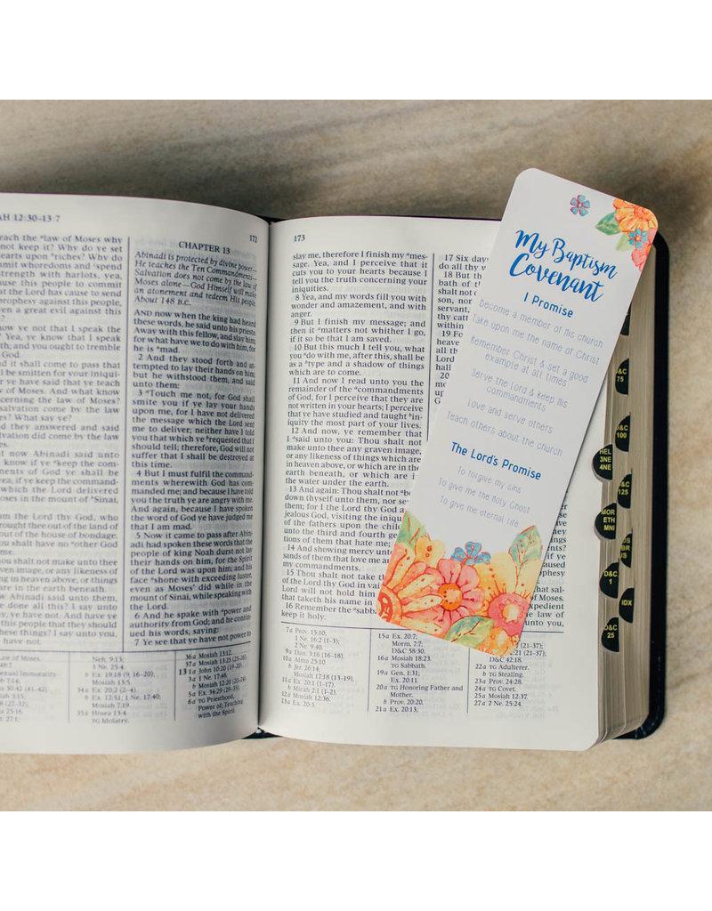 Girl's Baptismal Covenant Bookmark