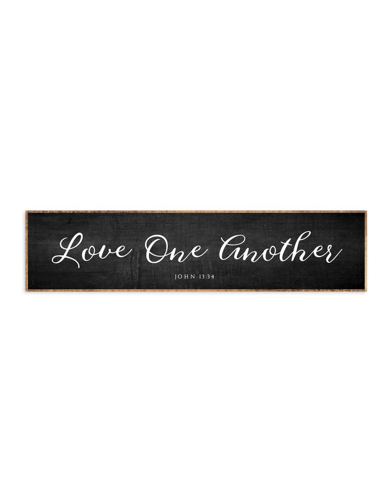 """Revelation Culture Wood Framed Sign 42 x 10"""" 