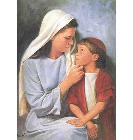 Del Parson Jesus As A Little Child  5x7 Print Del Parson