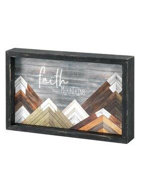 Faire: Dicksons Gifts Faith Moves Mountains Tabletop Decor