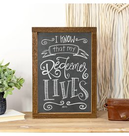 Faire: Clairmont & Co Wood Sign | My Redeemer Lives