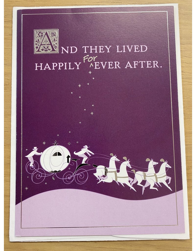 And They Lived Happily FORever After Card