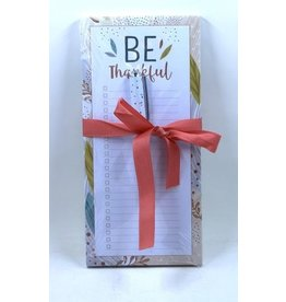 Be Thankful Magnetic Note Pad