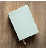 Hand-Bound Leather Quad - Baby Blue