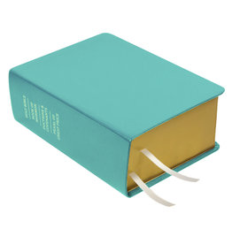 Hand-Bound Leather Quad - Teal