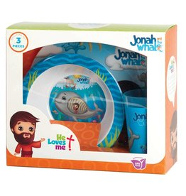 Faire: Dicksons Gifts He Loves Me Mealtime Set - Jonah