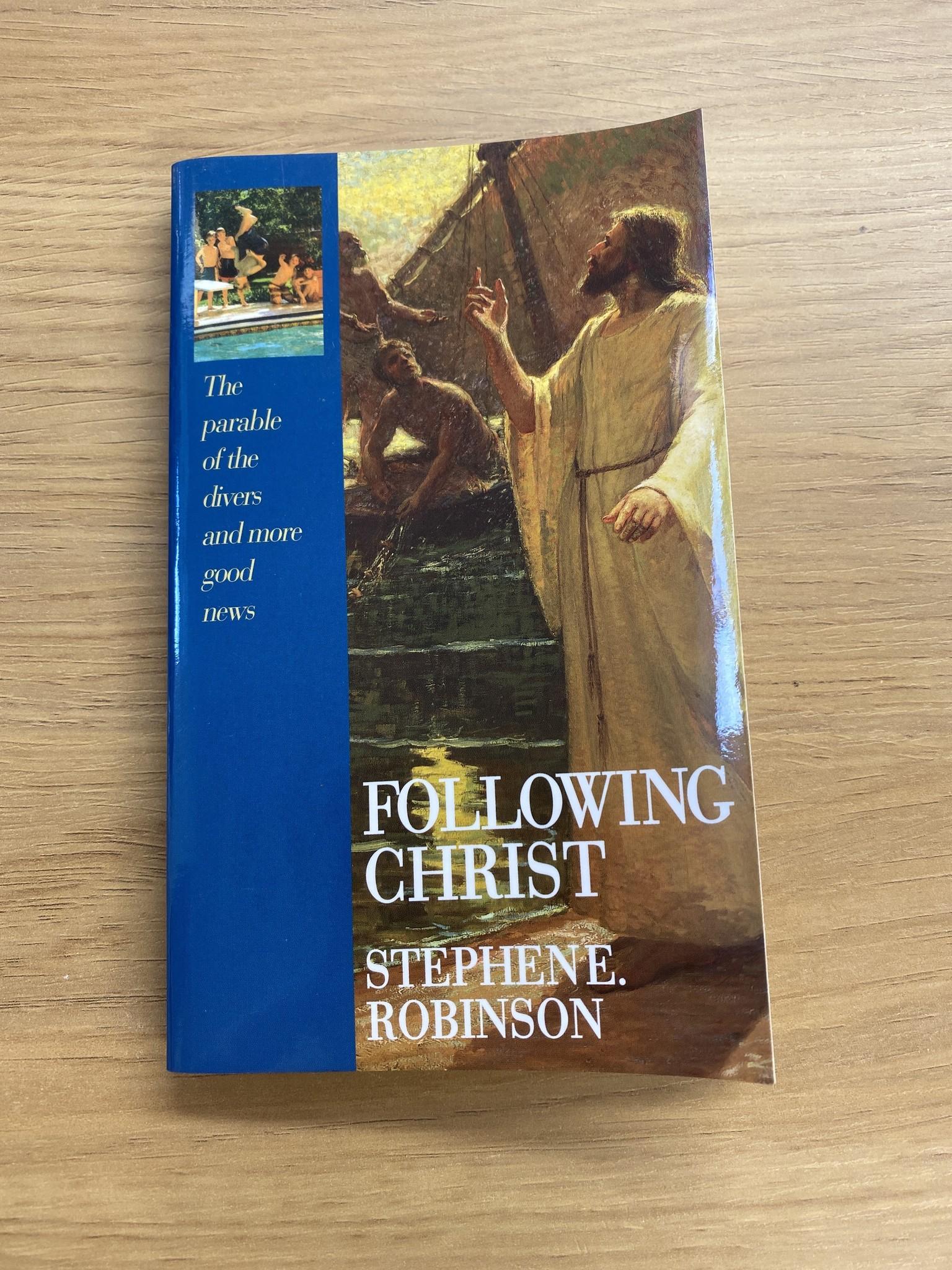 ***PRELOVED/SECOND HAND*** Following Christ (mass market), Robinson
